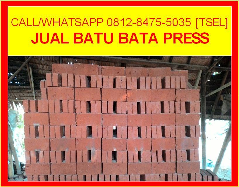Jual Batu Bata Press