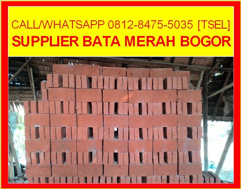 Supplier Bata Merah Bogor