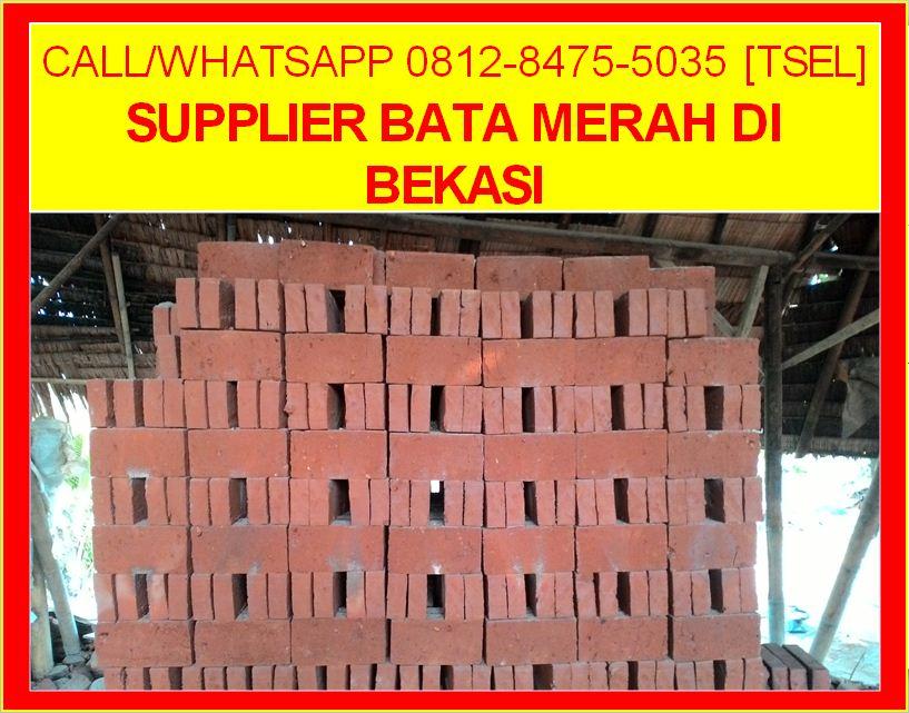 Supplier Bata Merah Di Bekasi