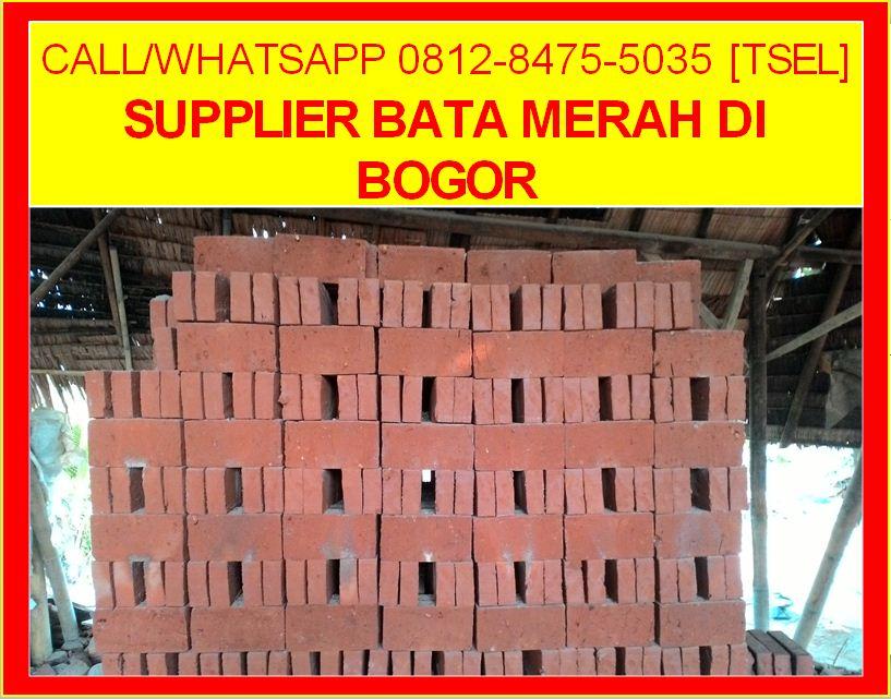 Supplier Bata Merah Di Bogor
