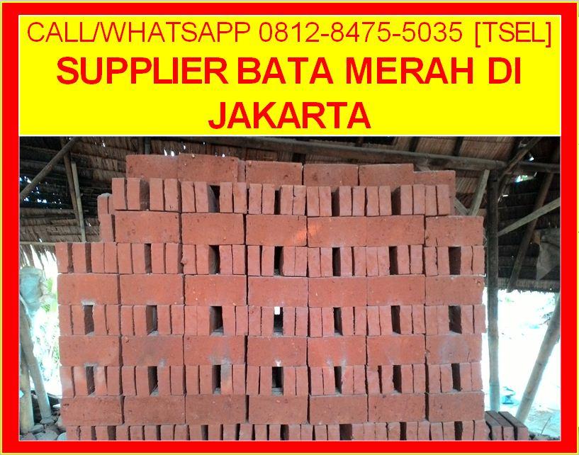 Supplier Bata Merah Di Jakarta