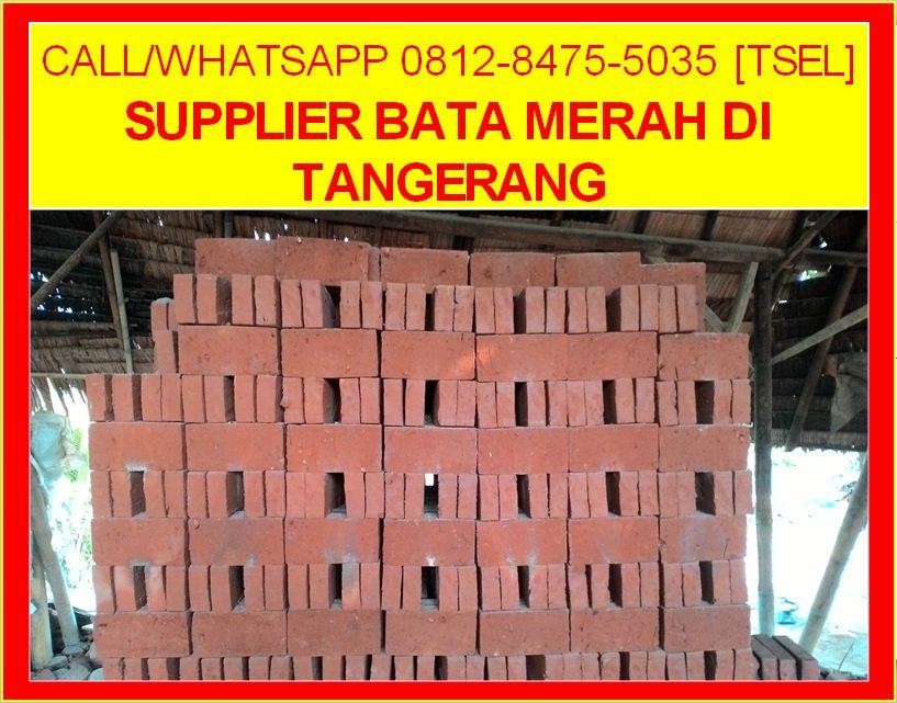 Supplier Bata Merah Di Tangerang